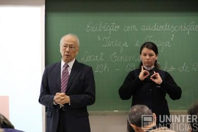interpretes de libras do uninter atuam em seminario 2