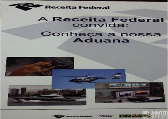 Visita T Cnica Receita Federal Refor A Conte Dos De Sala De Aula Uninter Not Cias