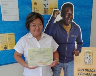 Denise Imai, aluna de Turismo