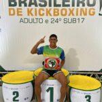 Aluno de Educação Física conquista campeonato nacional de kickboxing