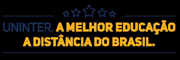 Uninter. A melhor educação a distância do brasil.
